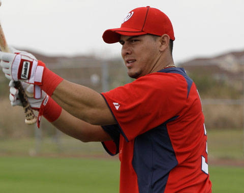 Wilson Ramos Washington Nationals MLB News
