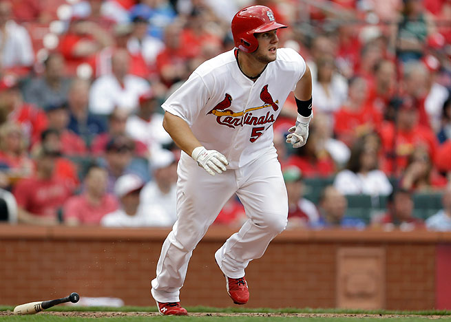 Matt Adams 1b Fantasy Baseball Draft Sleeper Rotoballer