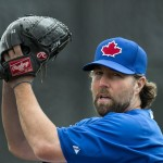 RA Dickey Toronto Blue Jays MLB News
