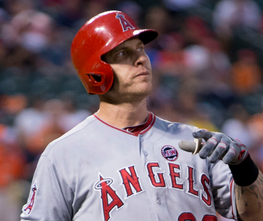 """By Keith Allison on Flickr (Originally posted to Flickr as """"Josh Hamilton"""") [CC-BY-SA-2.0 (http://creativecommons.org/licenses/by-sa/2.0)], via Wikimedia Commons"""