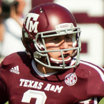 Johnny Manziel in Kyle Field CC BY-SA 3.0 Shutterbug459 - Own work