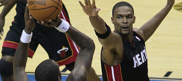 By Keith Allison (Flickr: Andray Blatche and Chris Bosh) [CC BY-SA 2.0 (http://creativecommons.org/licenses/by-sa/2.0)], via Wikimedia Commons