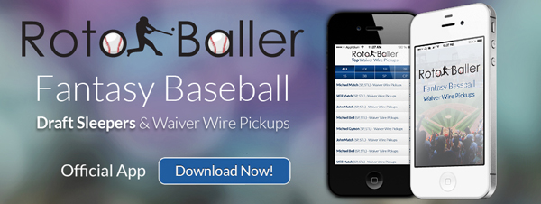 RotoBaller Waiver Wire Pickups App