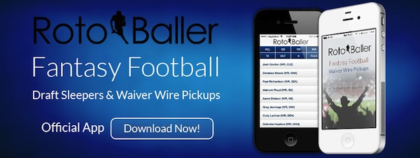 Fantasy Football NFL Waiver Wire Pickups - iPhone App