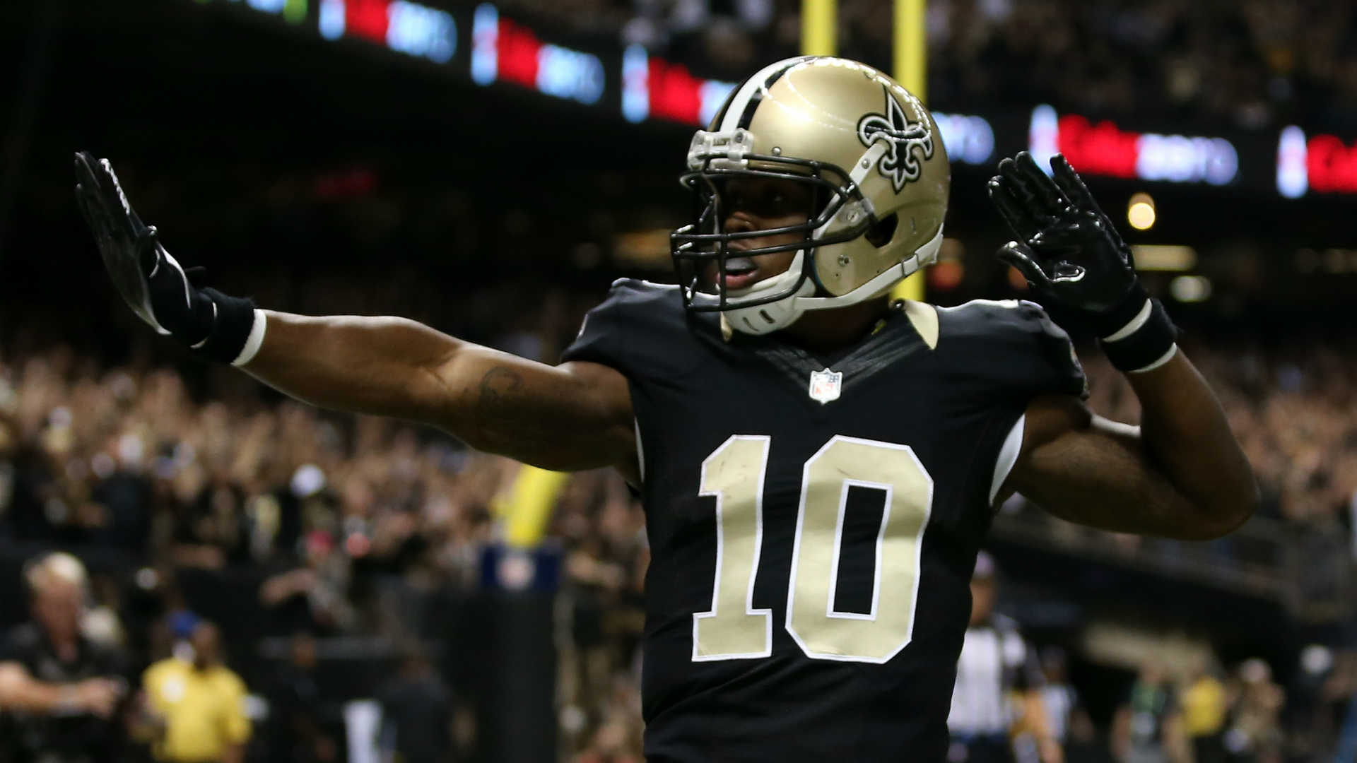 cheap for discount 21348 7ad5a Fantasy Spin: Brandin Cooks Traded To New England | RotoBaller
