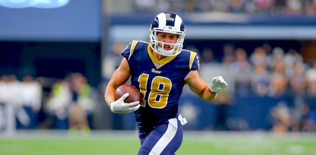 24a33f19bd20 Everyone held a collective breath as they watched Cooper Kupp get  horse-collared by a Broncos defender and had his left knee twisted  awkwardly.