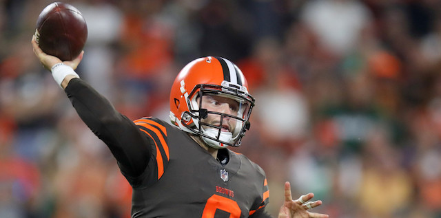 2018 Rated Rookie Baker Mayfield Cleveland Browns QB6