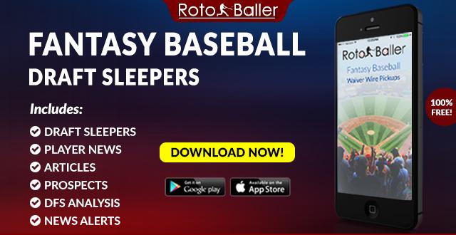 2019 Fantasy Baseball Draft Sleepers for MLB  b336a5f90