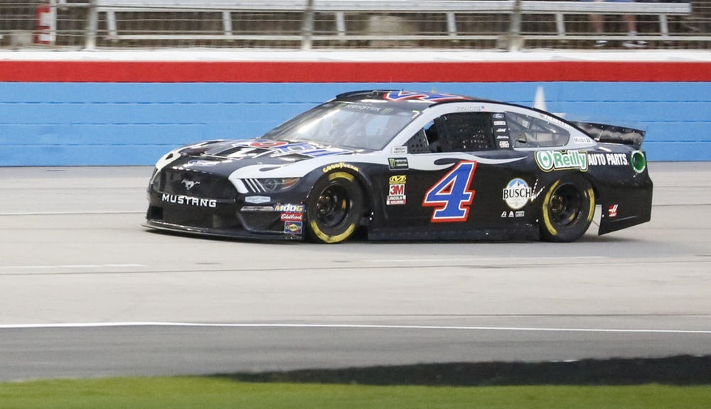Two pit penalties can't keep Hamlin from victory at Texas