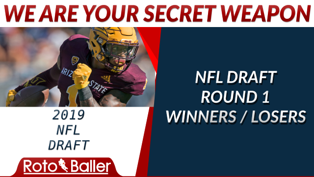 Nfl draft round one winners and losers