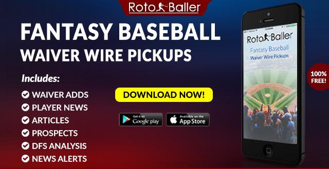 2019 Fantasy Baseball Waiver Wire Pickups for MLB   RotoBaller