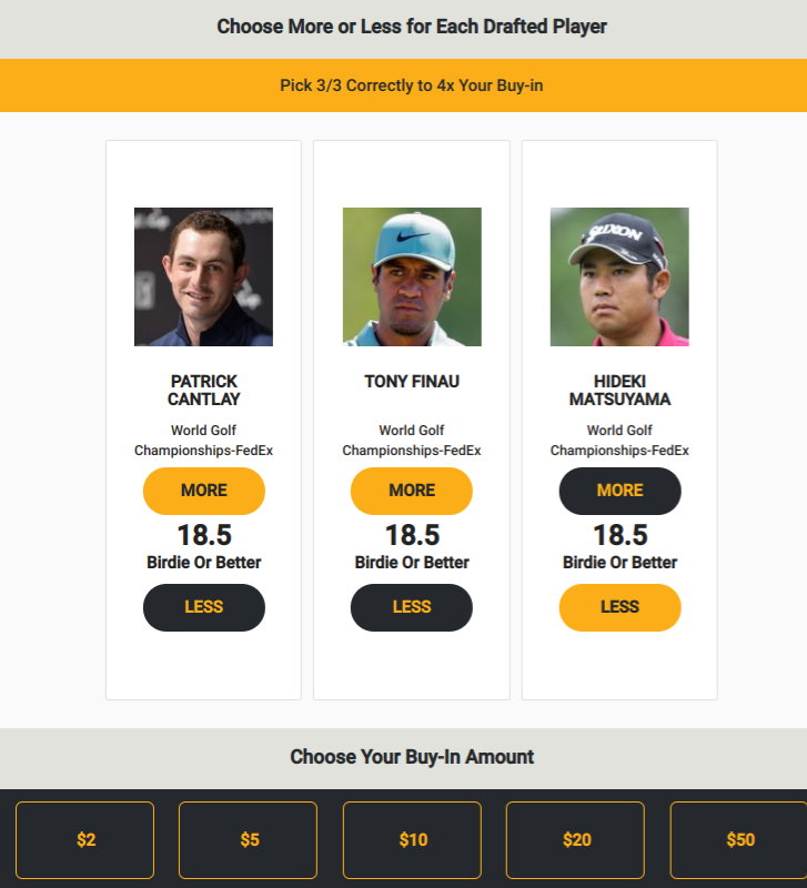 PGA DFS Prop Picks For WGC FedEx St. Jude Invitational